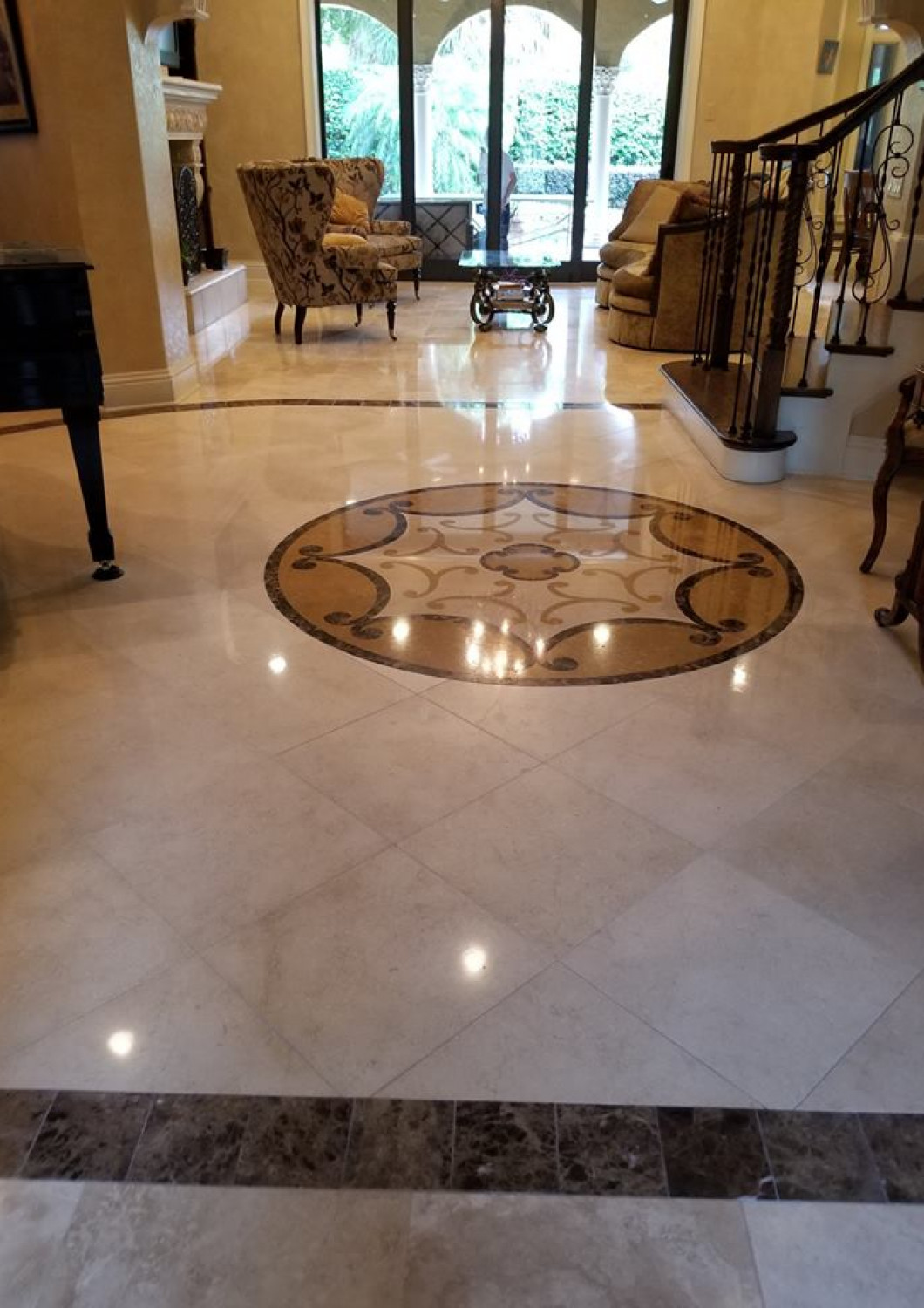 Pick a Pro to Polish Your Stone Flooring
